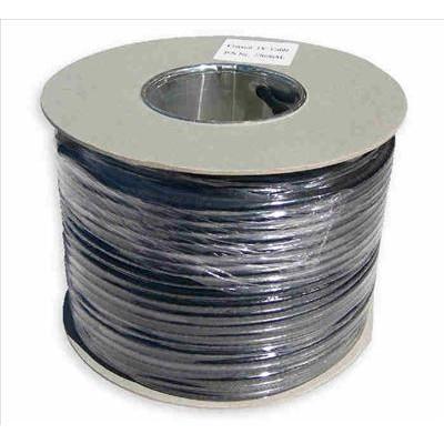 Black RG6 Satellite cable 100m