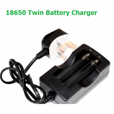 18650 Battery Charger - Twin