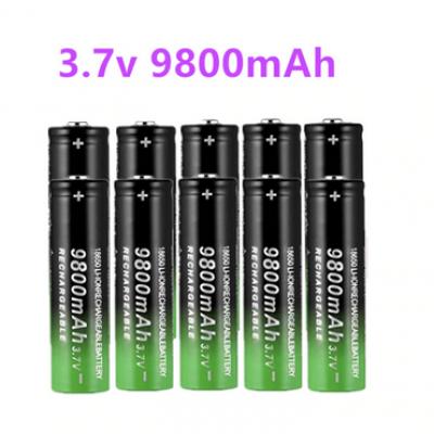 Li-ion 3.7V 9800mah 18650 Battery x 4