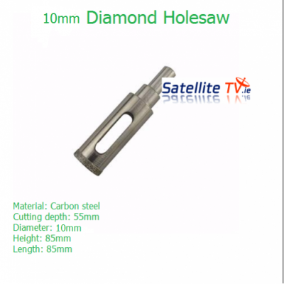 20mm Diamond Coated Tile & Glass Holesaw