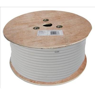 250m White Satellite TV Cable