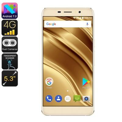 Ulefone S8 Pro 4G Quad Core Smartphone - 16GB, Android 7, 2 SIM's, 13MP Camera - Gold