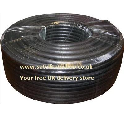 50m Black Satellite Cable