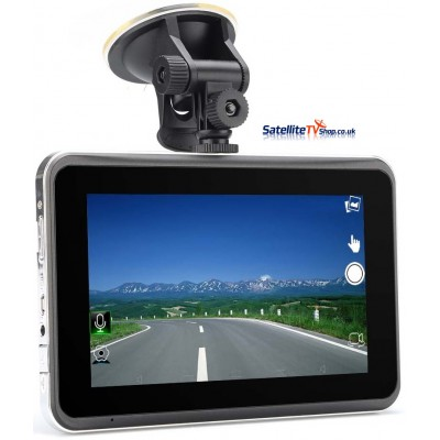 7inch Touchscreen GPS with DVR Dash Camera