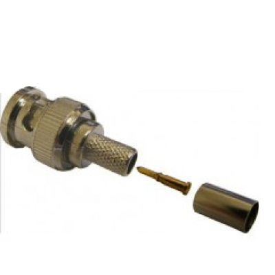 BNC Crimp on Plug