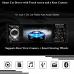 Car FM Stereo Bluetooth Radio 1 Din + Rear Camera