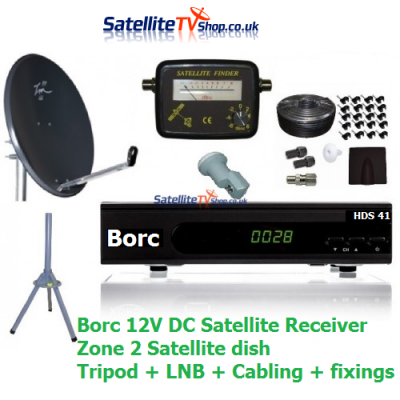 Caravan HD Satellite TV System