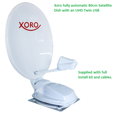 Xoro MTA 80cm Fully Automatic Satellite Dish