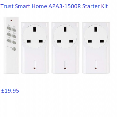 Trust Smart Home APA3-1500R Starter Kit