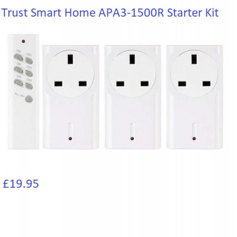 Trust Smart Home APA3-1500R Starter Kit