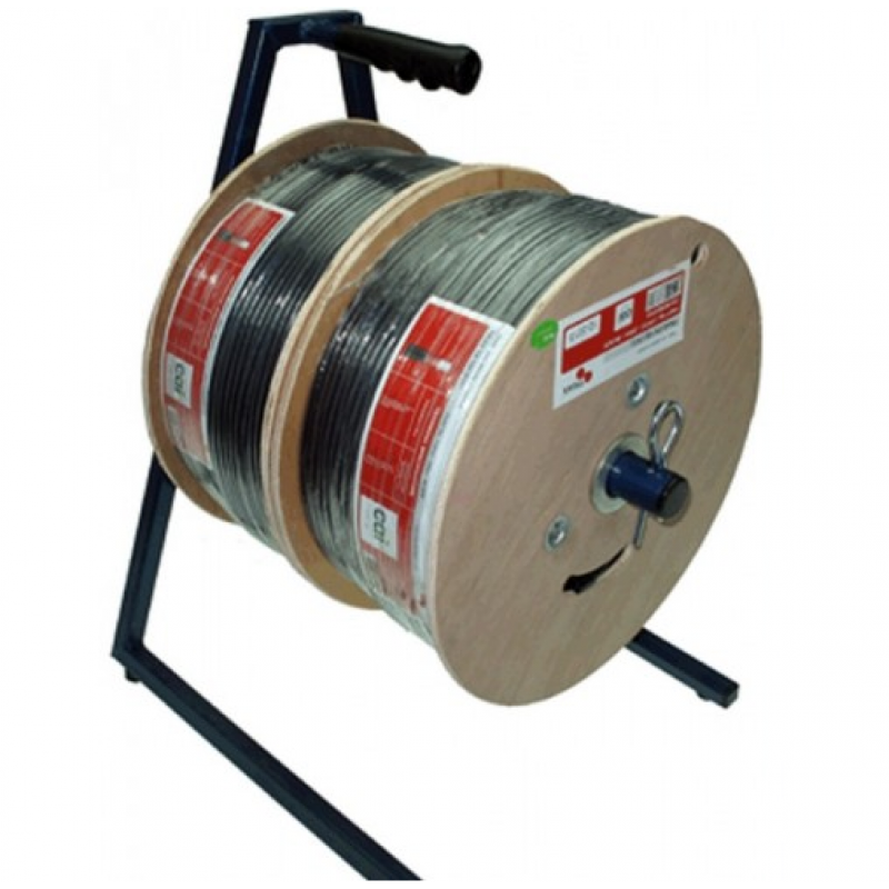 Cable Dispenser Twin - 250m Reels x 2
