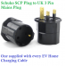 16A 7KW Type 1 EV Charging Cable For Electric Vehicles