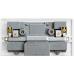 Twin Electrical Wall Socket + 2 USB Ports