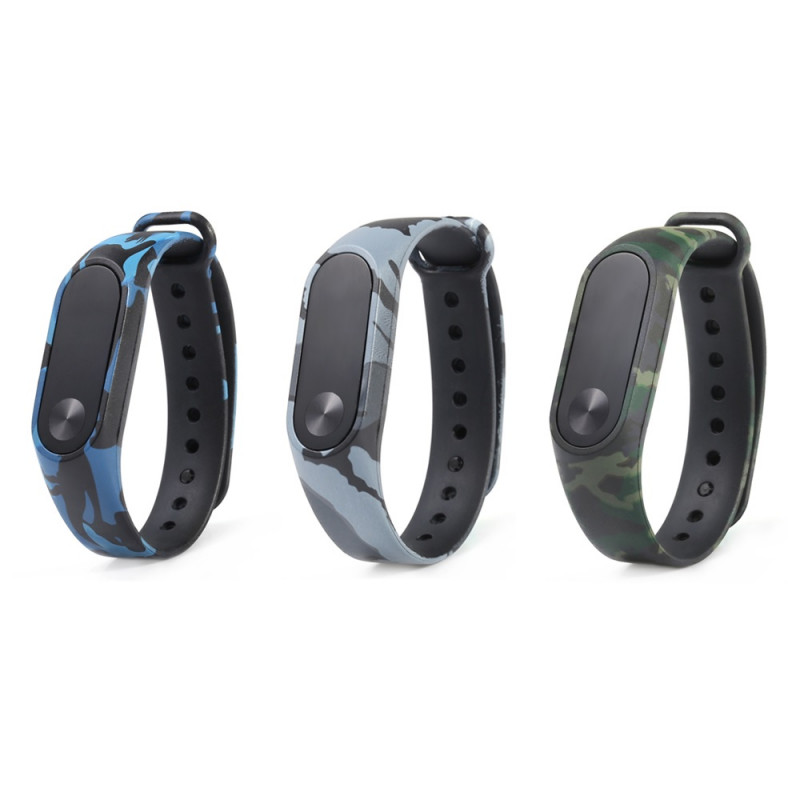Replacement Strap for Xiaomi Mi band 2 - Love, Green, Blue or Gray