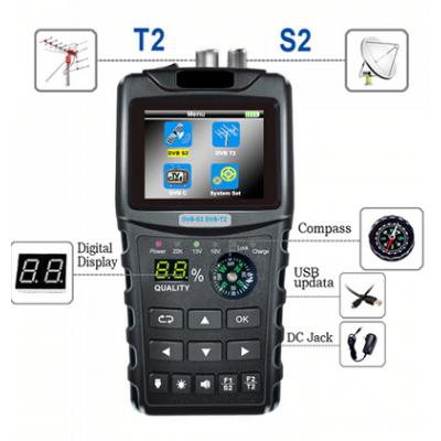 SatMETER DVB-S2 DVB-T2 Combo Satellite Meter
