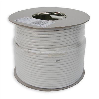 White Satellite Cable 100m