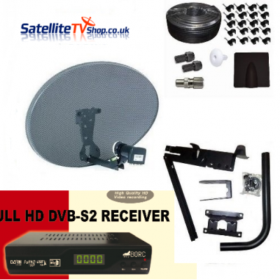 How to Install a Fixed Satellite TV System