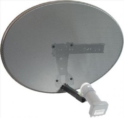 Raven Zone 1 Satellite Dish + Quad LNB + 25m Twinsat Cable