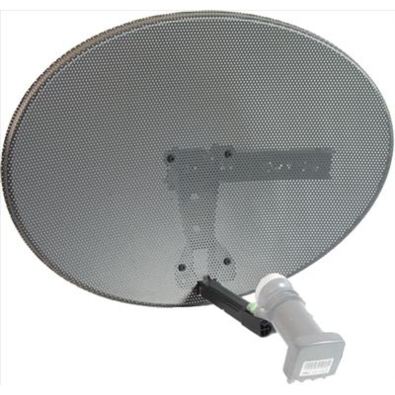 Raven Zone 2 Satellite Dish + Quad LNB + 25m Twinsat Cable