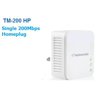 Technomate TM-200 HP -  200Mbps Homeplug x 1