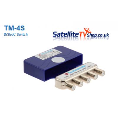 Technomate TM-4S 4 Way DiseqC Switch