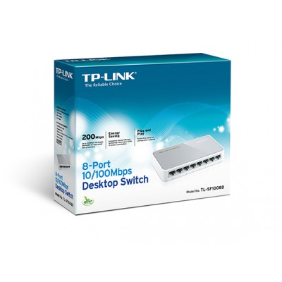 TP-Link 8-Port 200Mbps Desktop Switch