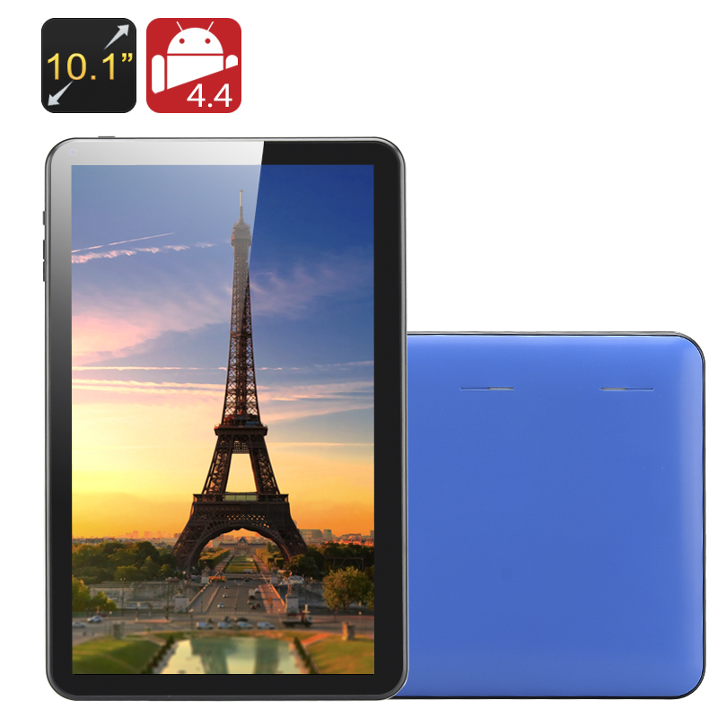 10.1 Inch Tablet PC Android 4.4, Quad Core, 8G with Google Play