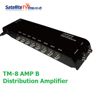 Technomate Professional TM-8 AMP Black Distribution Amplifier