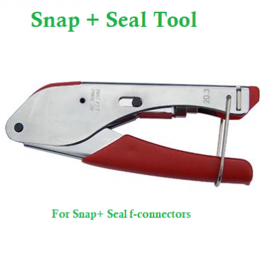 Snap + Seal F-Connector Tool