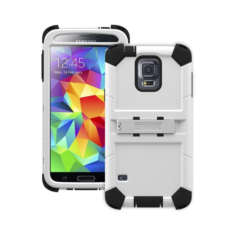 Trident Kraken AMS Case Samsung S5 - Military Grade - White