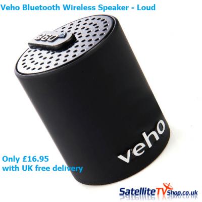 Veho Awesome 360 Bluetooth Speaker