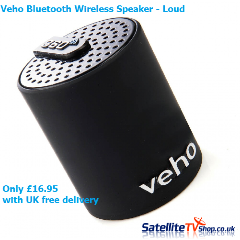 Veho Awesome 360 Bluetooth Speaker