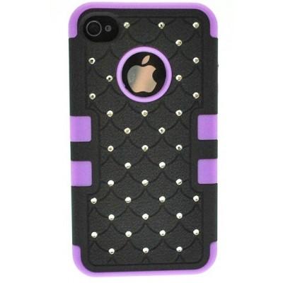 iPhone 4/4S Diamante Armour Case